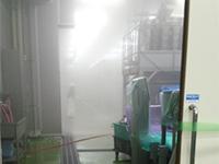 食品工場洗浄場所